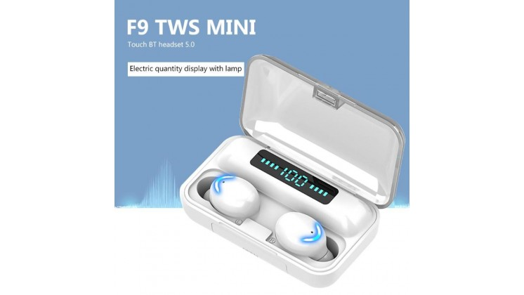 SICONIX BLUE TOOTH 5.0 EARBUDS F9-5CL