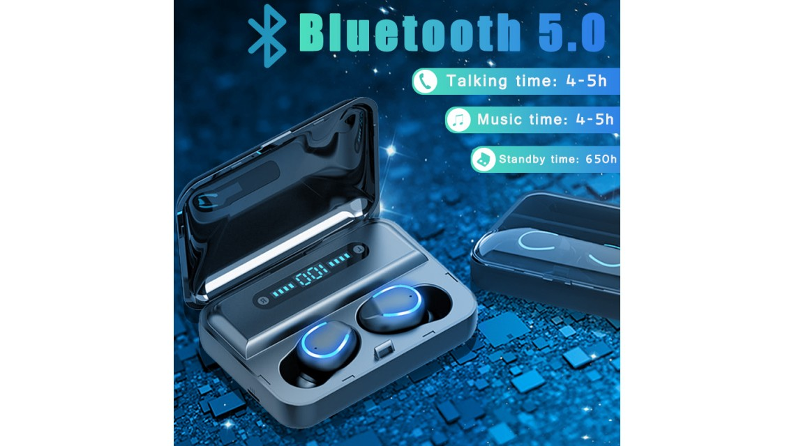 Blue Tooth 5.0 Earbuds F9-5 U2