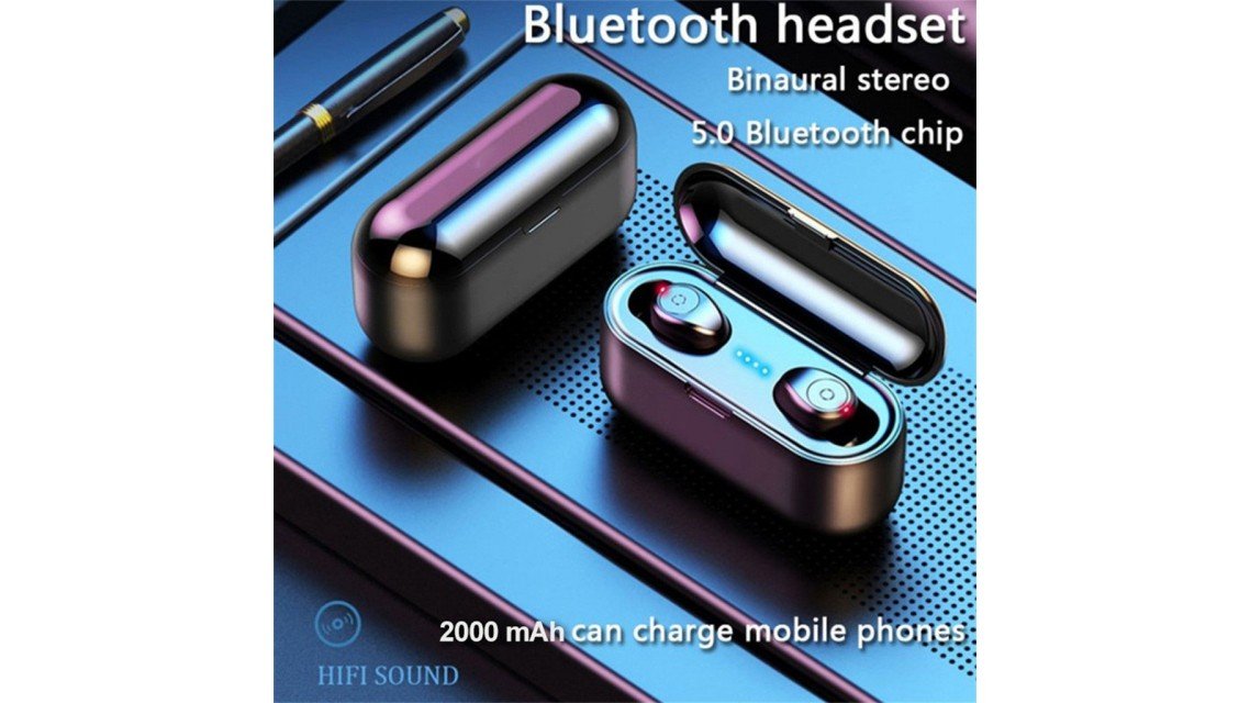 Blue Tooth 5.0 Earbuds F9-8