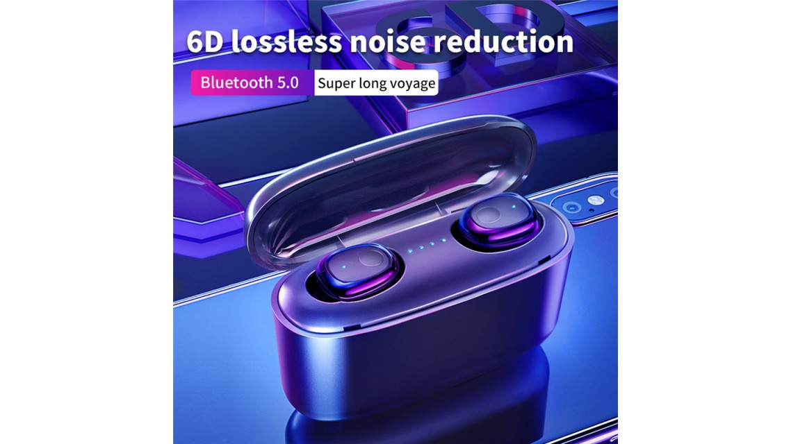Blue Tooth 5.0 Earbuds  G5S Light Digital